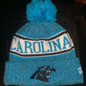 New Era Carolina panthers winter hat